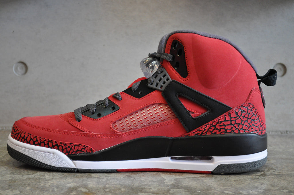 Nike Jordan Spizike - Gym Red/Black-Dark Grey-White