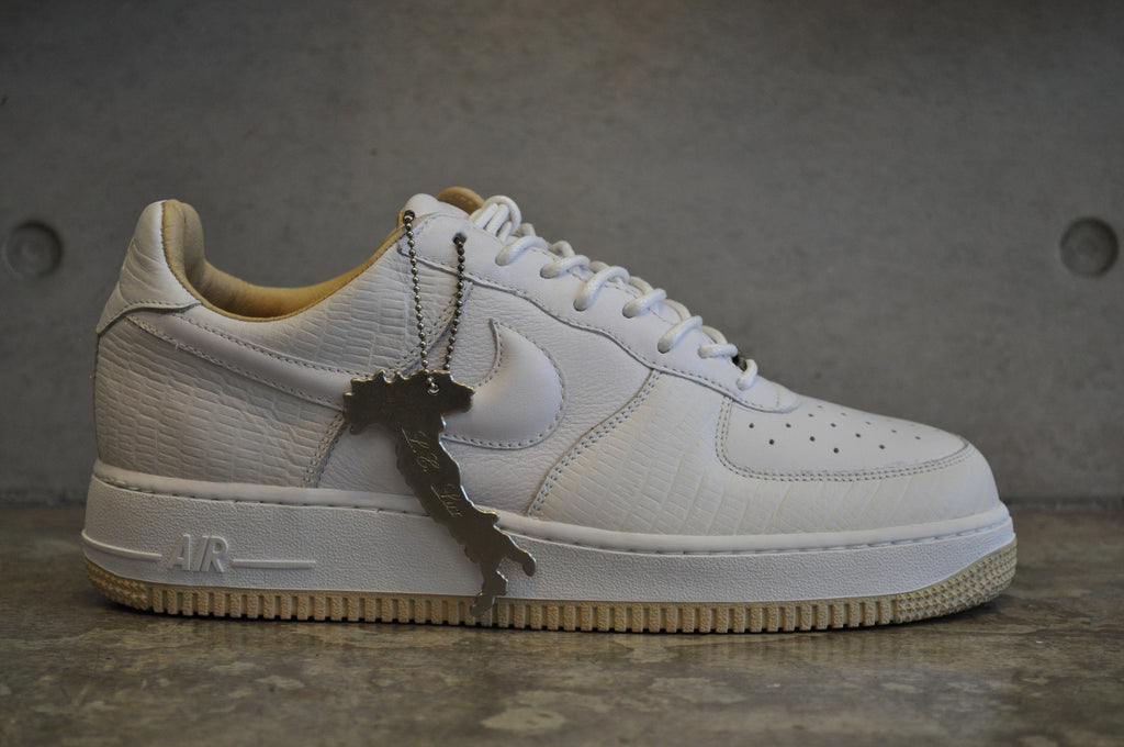 Nike Air Force 1 'Made In Italy' Lux - White/White-Straw