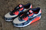 Nike Air Max 90 Denim QS - Midnight Navy/Black-Wht-Infrd