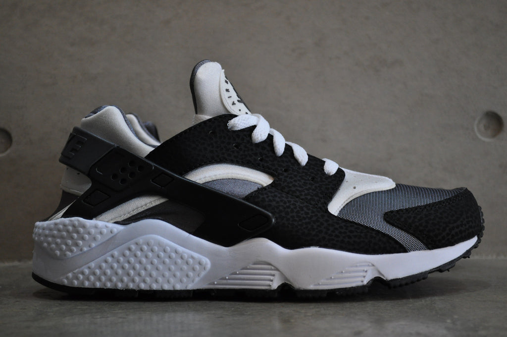 huarache black grey