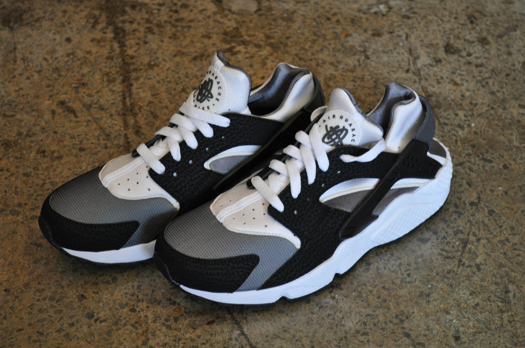 Nike Air Huarache 'ORCA' - Black/White-Dark Grey