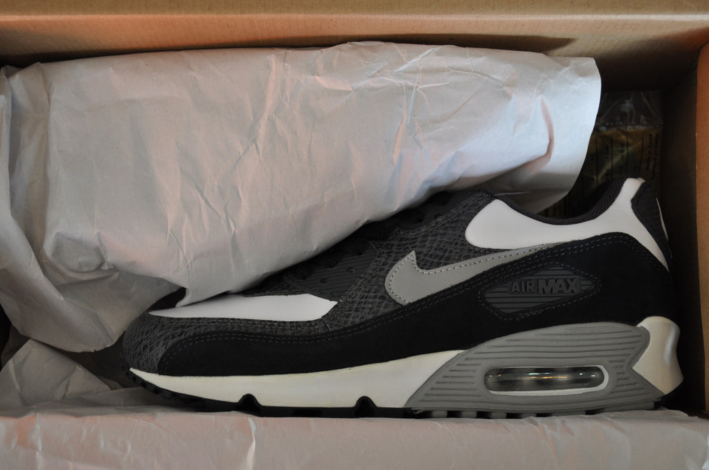 Nike Air Max 90 'Python' 2003 - White/Med Grey-Lt Graph-Anthra