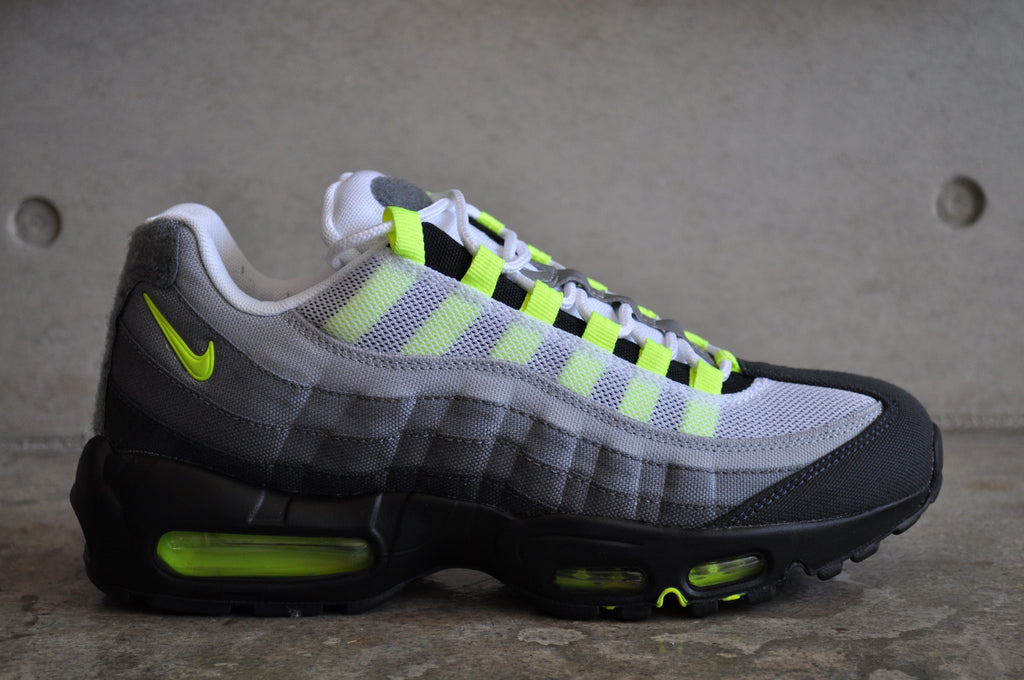 Nike Air Max 95 Neon OG Patch SP - White / Neon Yellow