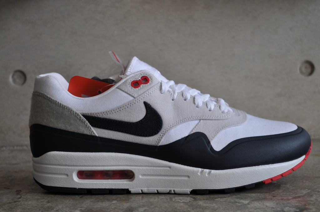 nike air max 1 og navy red shirt