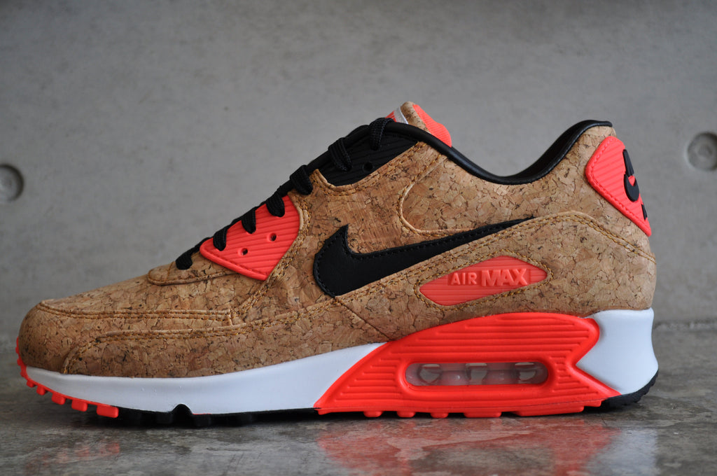 "Nike Air Max 90 Infrared ""Cork"" - Bronze / Black-Infrared"