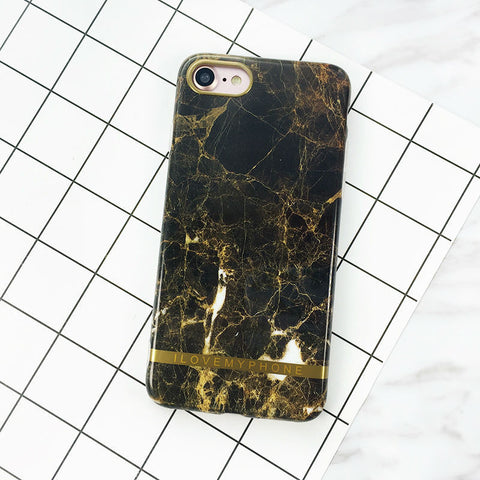 Nørring & Vester - Marmor Cover - Brown - I Love My Phone