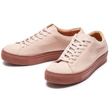 Selected Femme - Sneakers - Donna Suede Sneaker - Blush - 16058580
