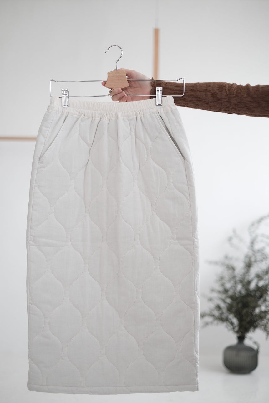 OTTILIE QUILTED SKIRT