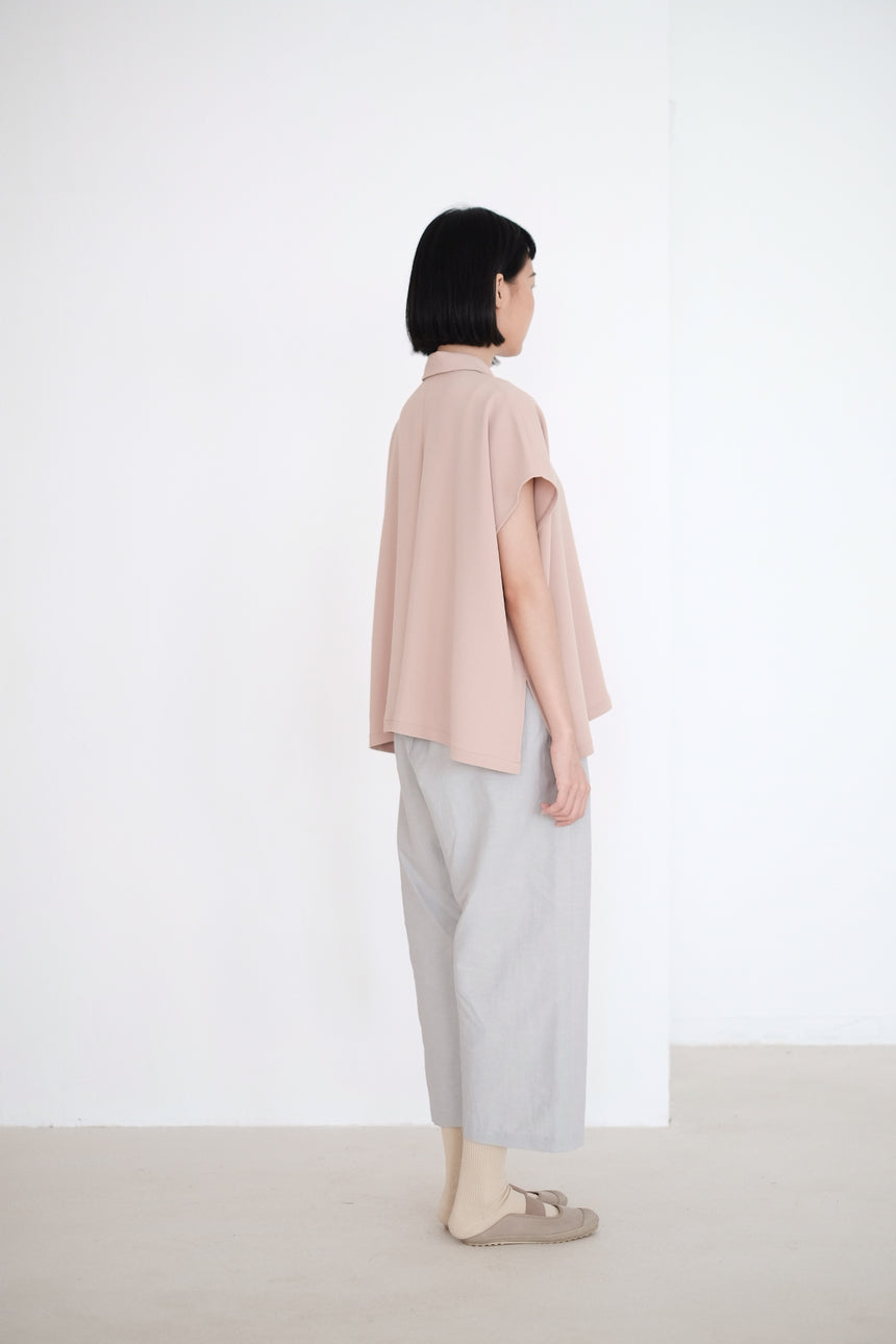 LAYLA BOX BLOUSE (NUDE)