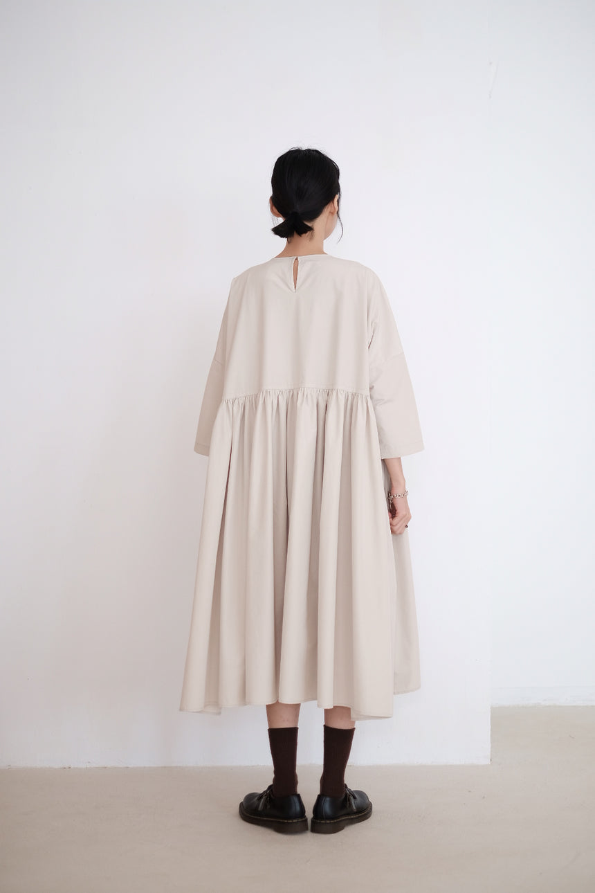 BEIGE MIA DRESS