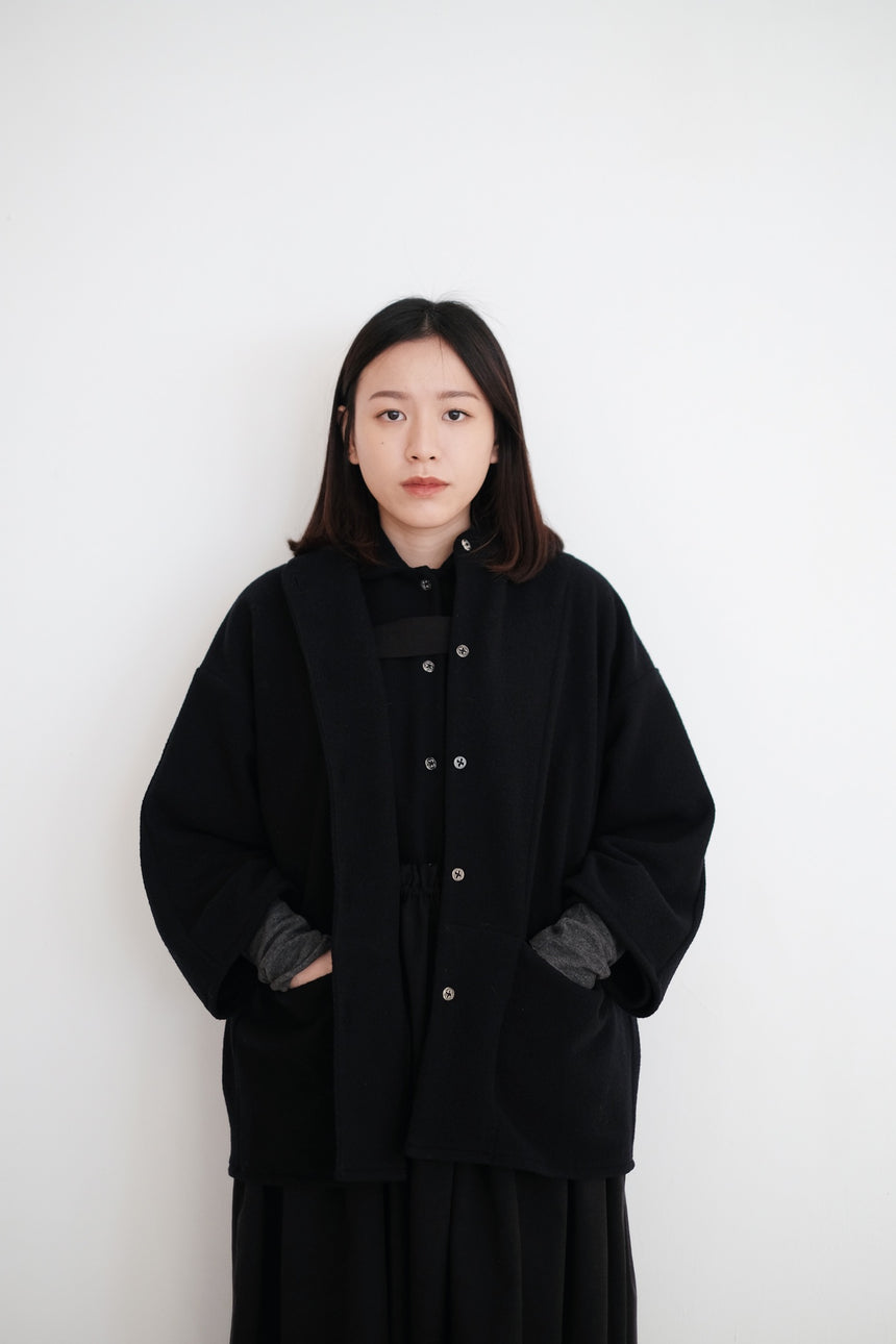 ANN JACKET (NAVY)