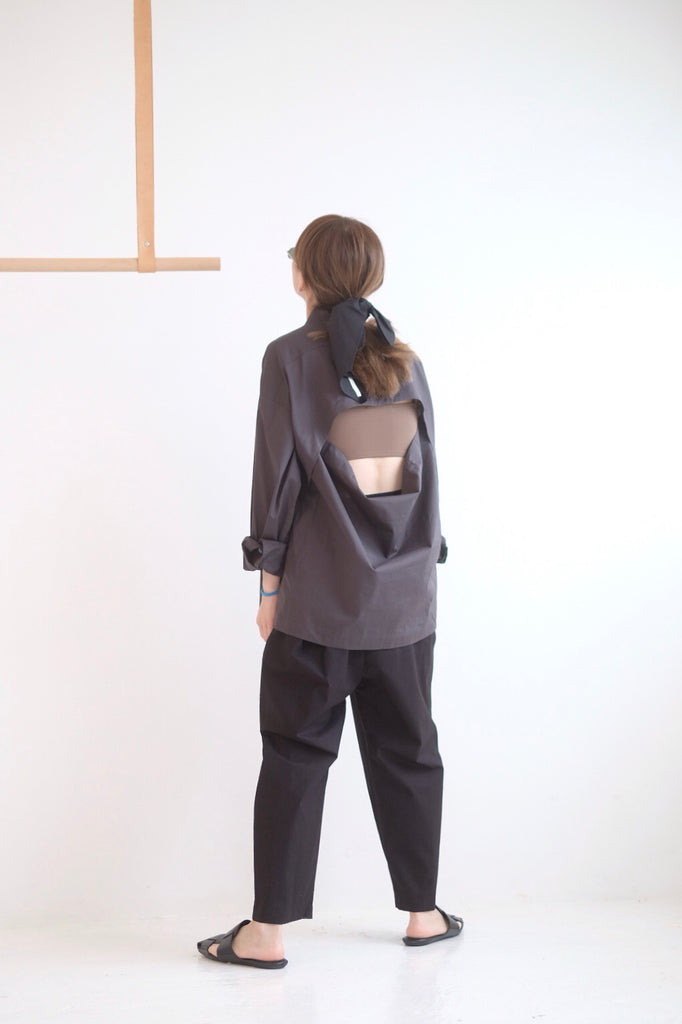 LIGHTWEIGHT SHIRT WZ OPEN BACK