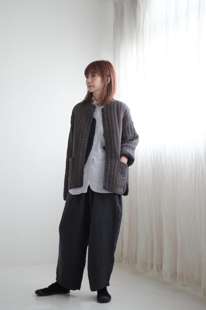 GREY COTTON JACKET