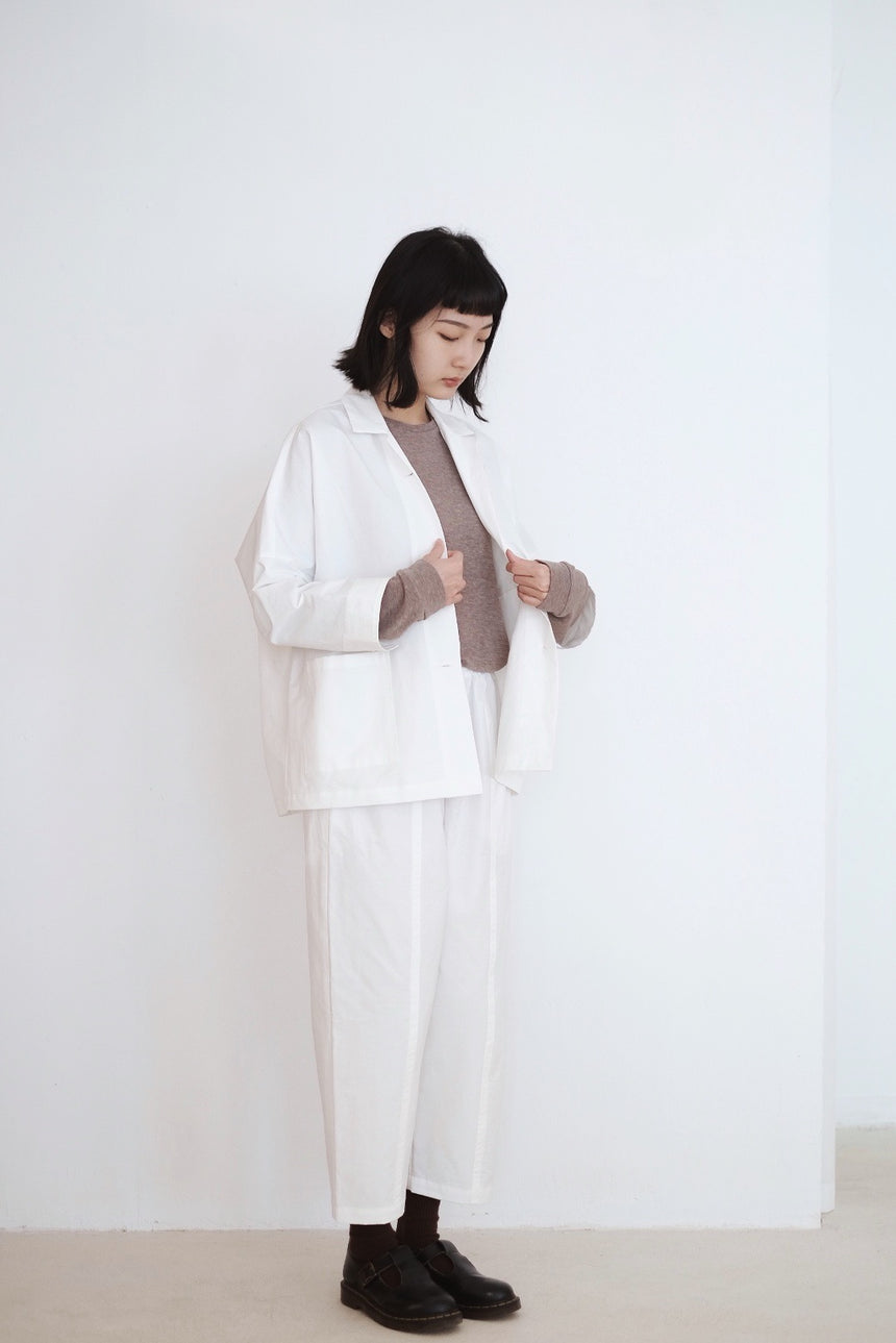 THE GIVERNY Set / TROUSERS (WHITE)