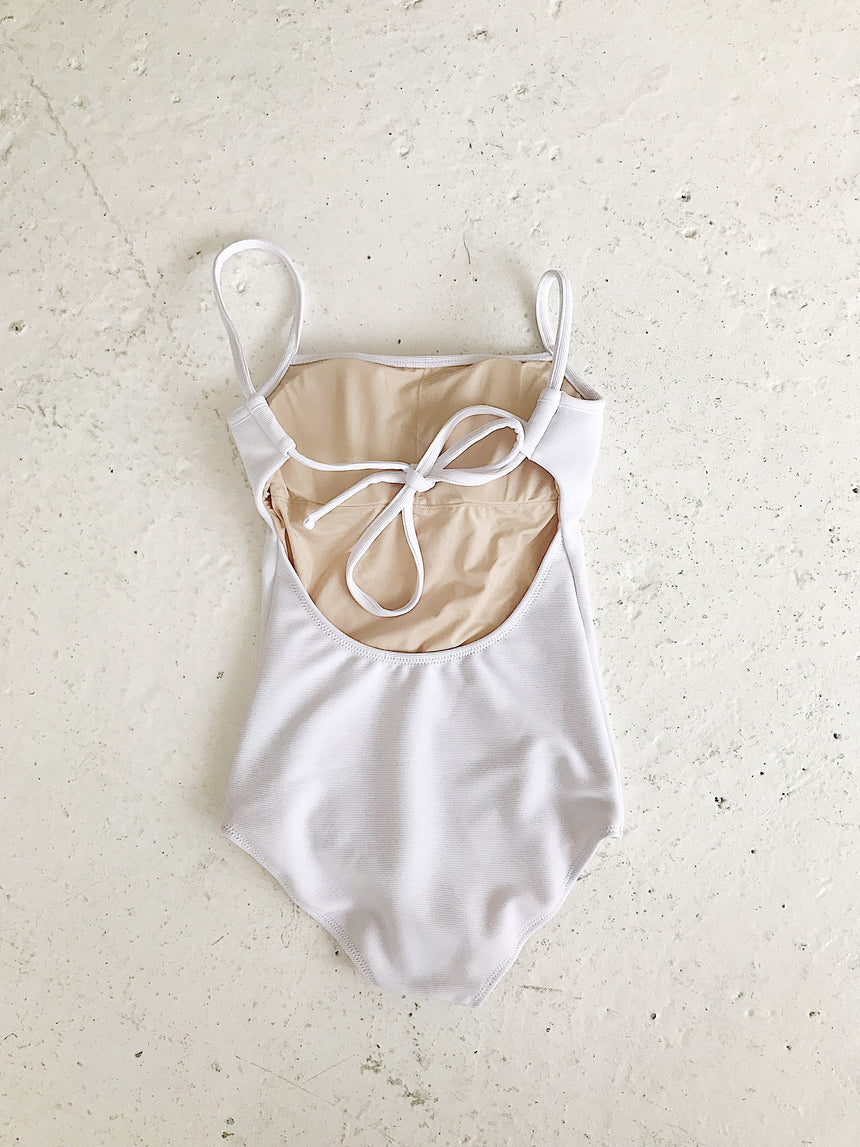 SQUARE-NECK SWIMSUIT