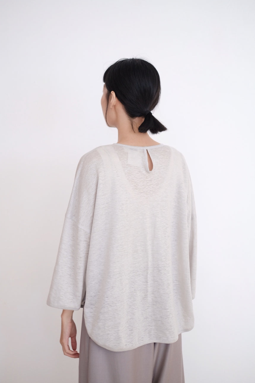 MARIAS TOP IN COTTON