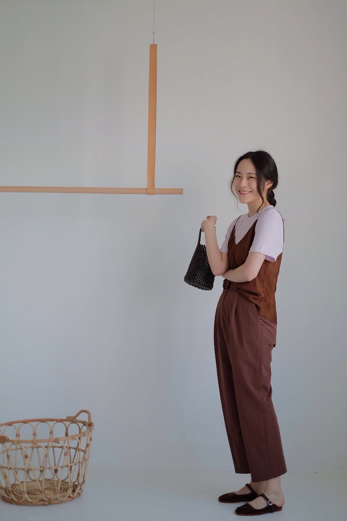 Brown Silky Camisole