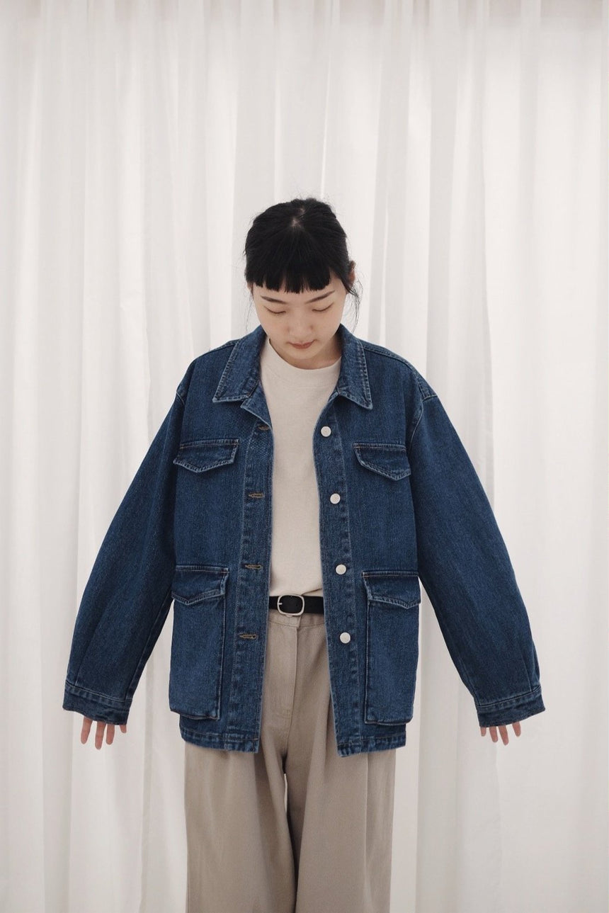 NOIR DENIM JACKET