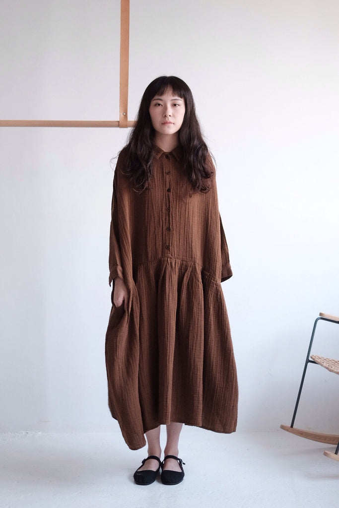 LINEN DOLLY DRESS
