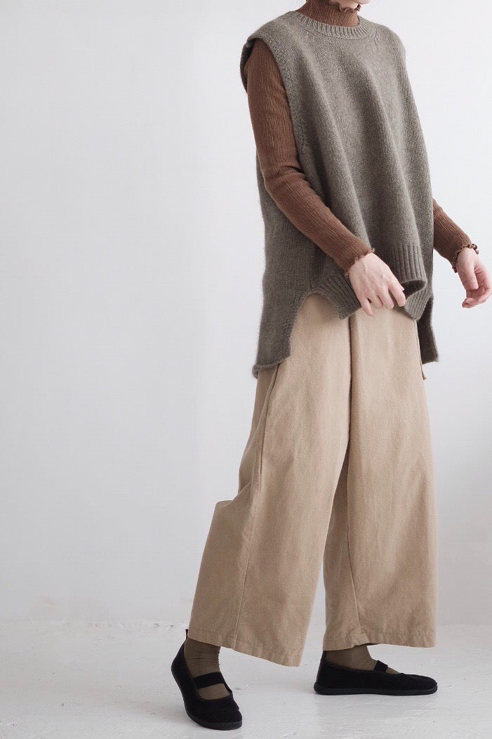 WRAPPED PANTS(khaki)