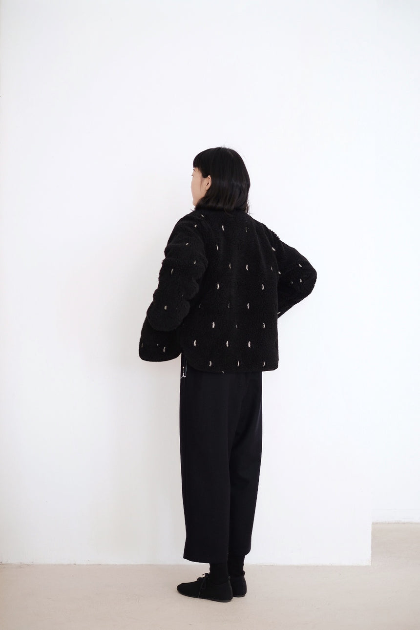 NOEL POLAR FLEECE JACKET (BLACK)