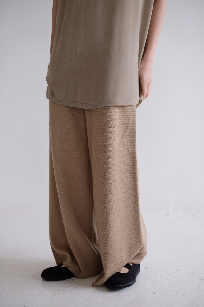 Spring Knitted Trouser