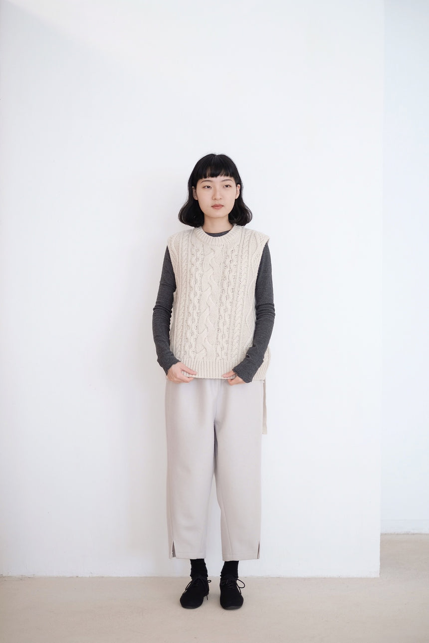 HEARTWARMING KNITTED VEST