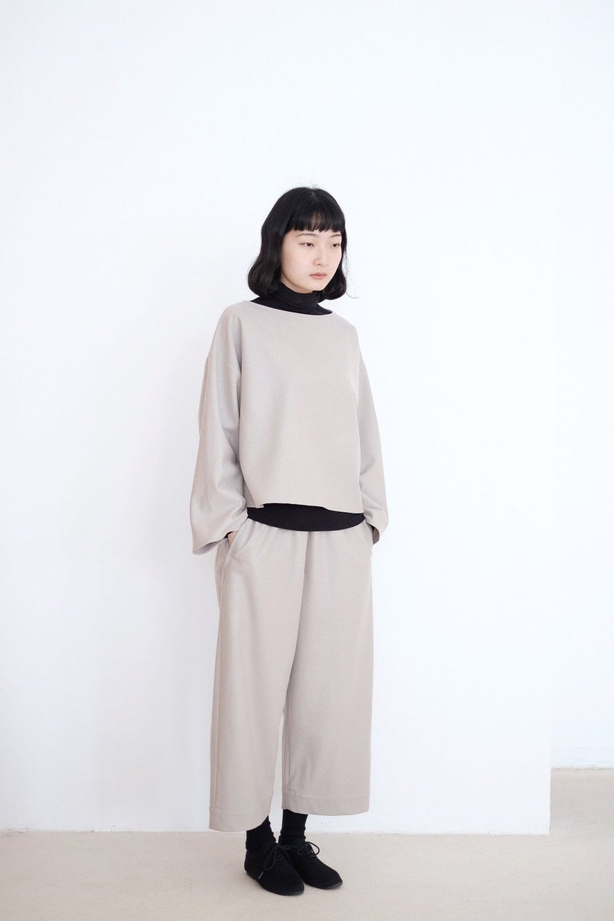 ANAIS Set IN WOOL / PANT (BEIGE)