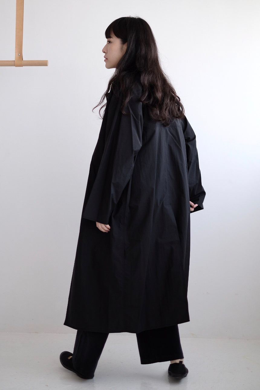 ARRR TRENCH COAT (Black)