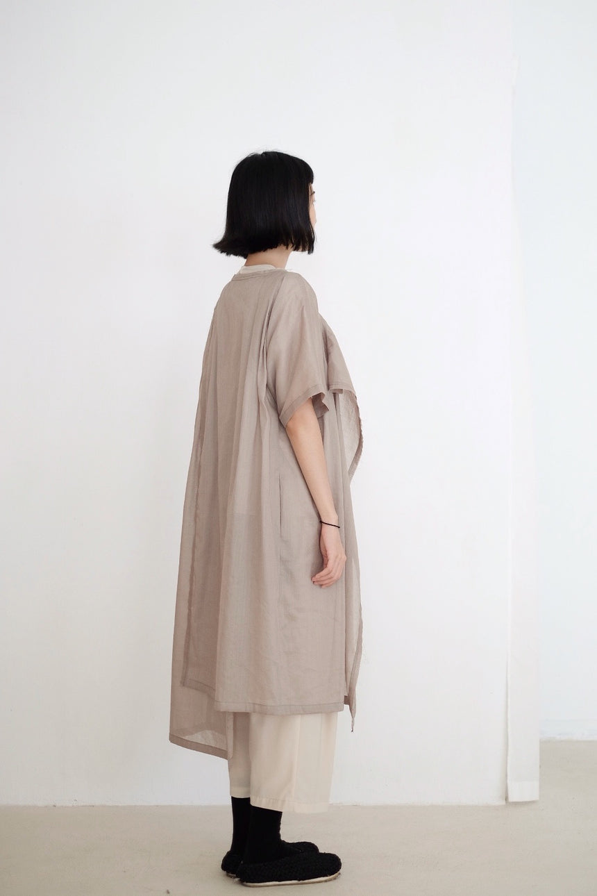 DREAMSCAPER DRESS (WARM GREY)