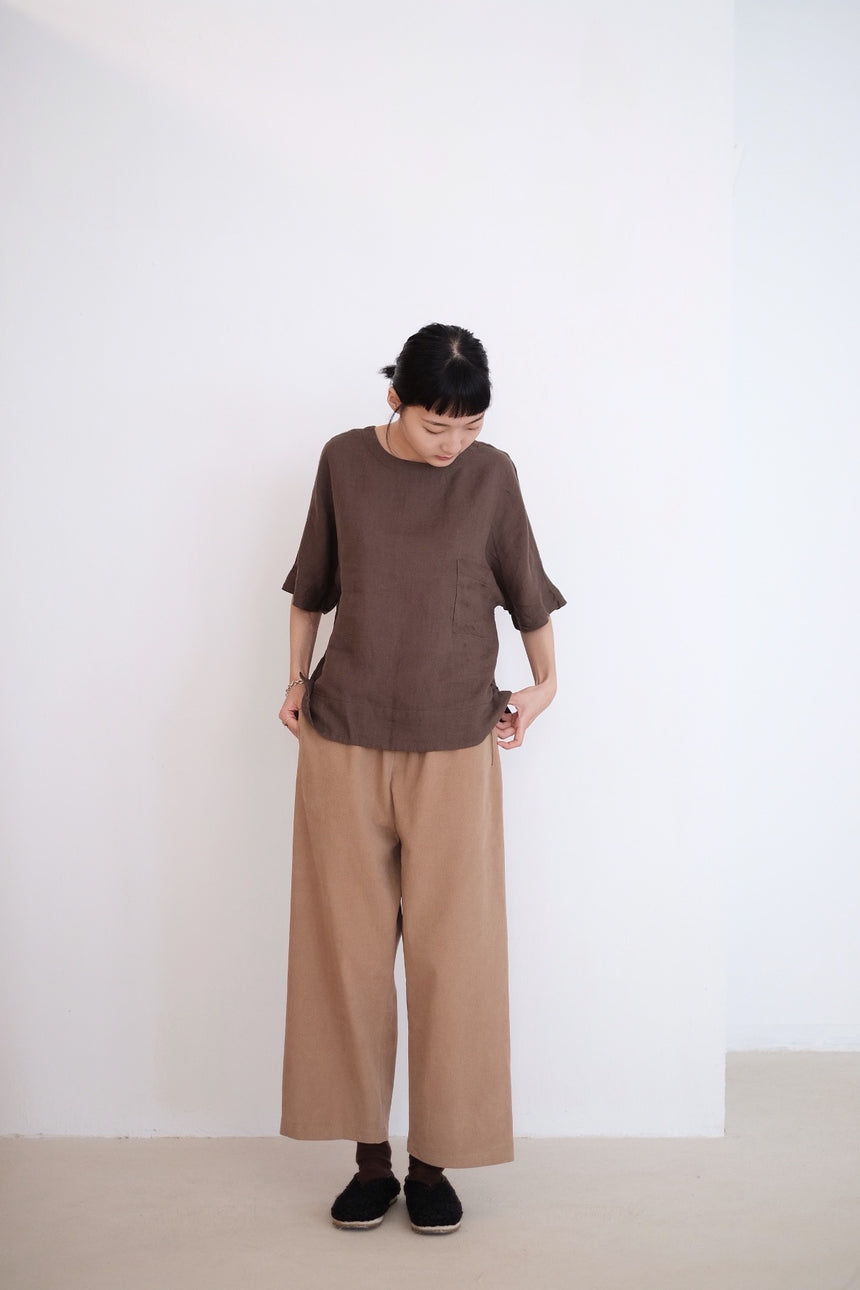 OAK TROUSERS (CAMEL)
