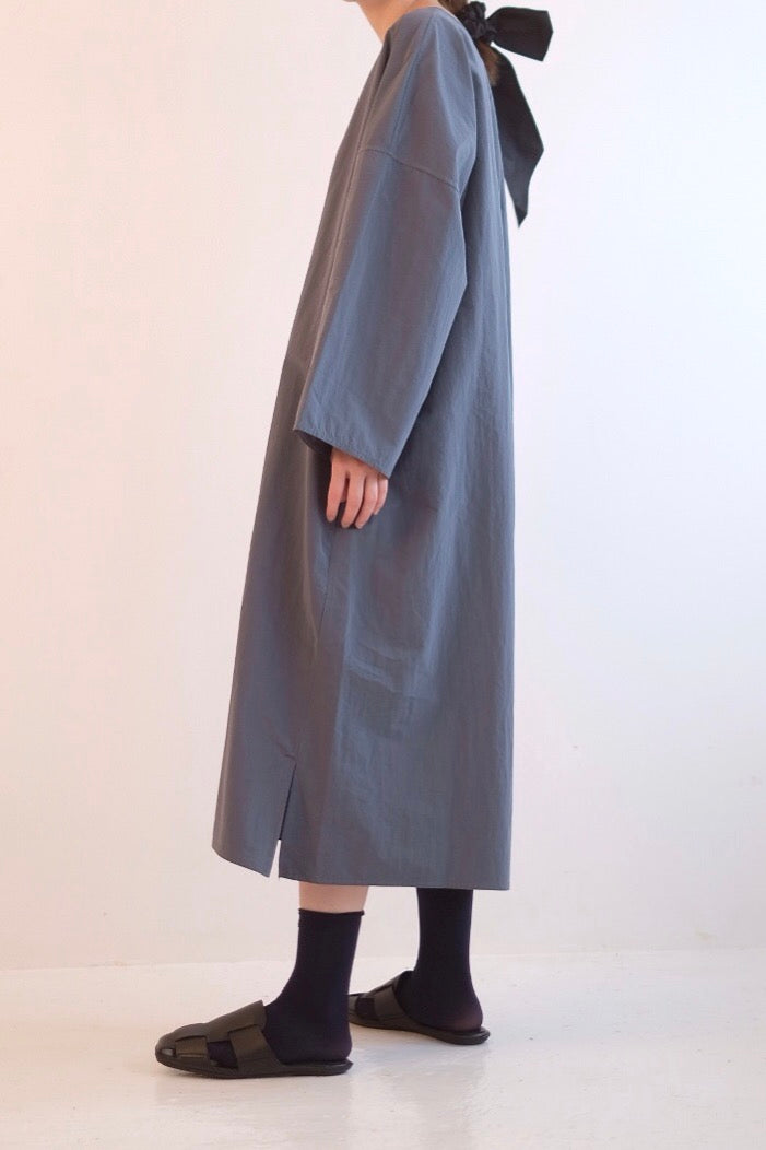 OVERSIZED COTTON T-SHIRT DRESS