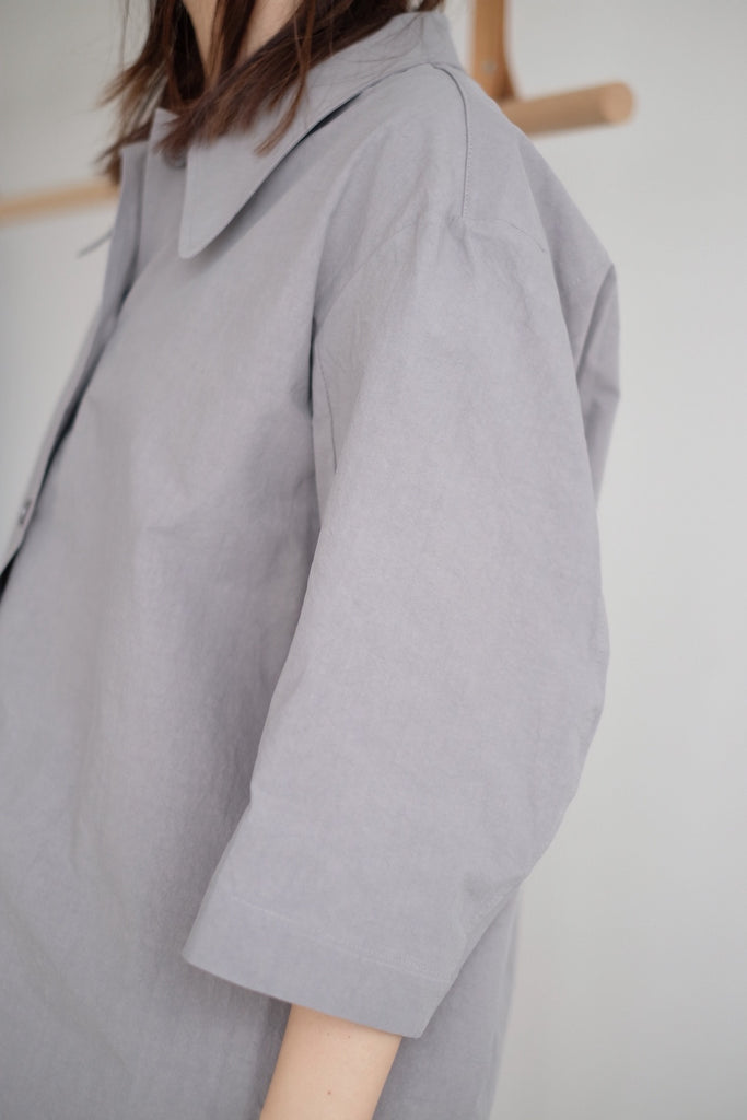 PAPER SHIRT IN GREY