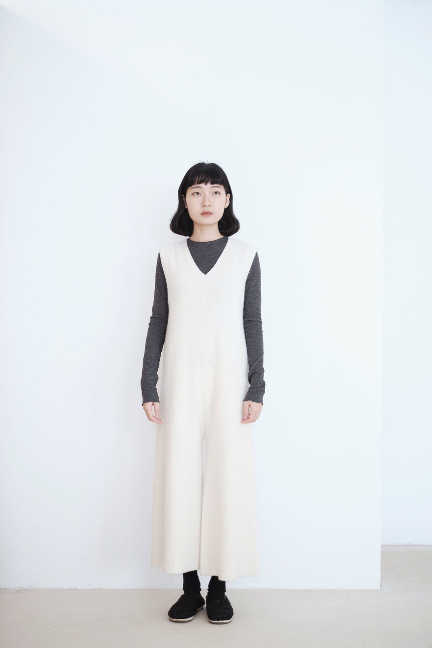 SNOW SOFT JUMPSUIT (WHITE)