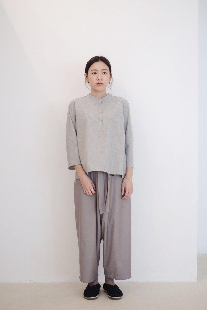 KOKI BLOUSE (GREY)