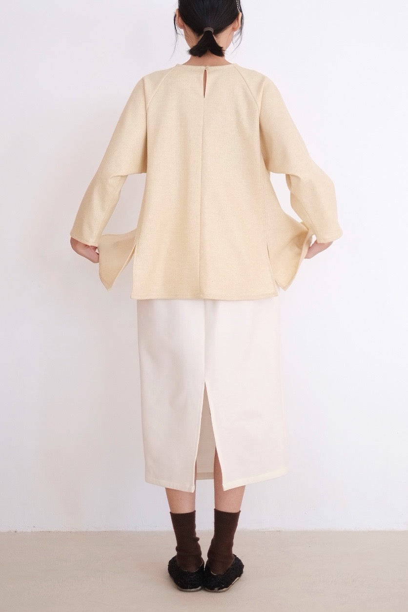 KOU's TOP IN LIGHT YELLOW