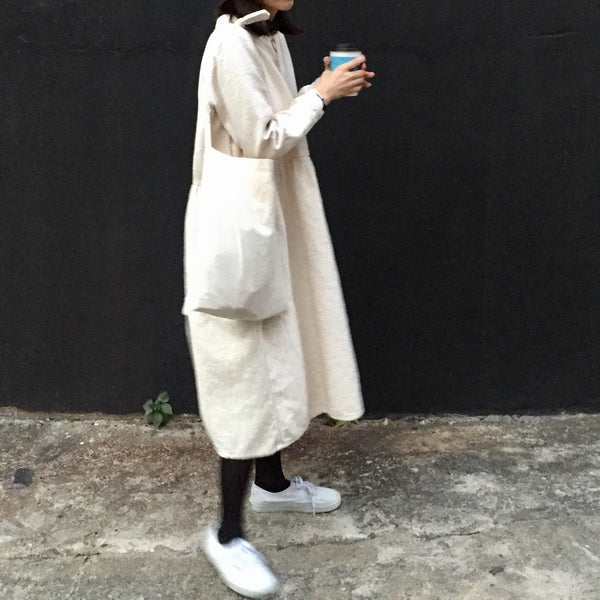 Thick Linen dolly dress