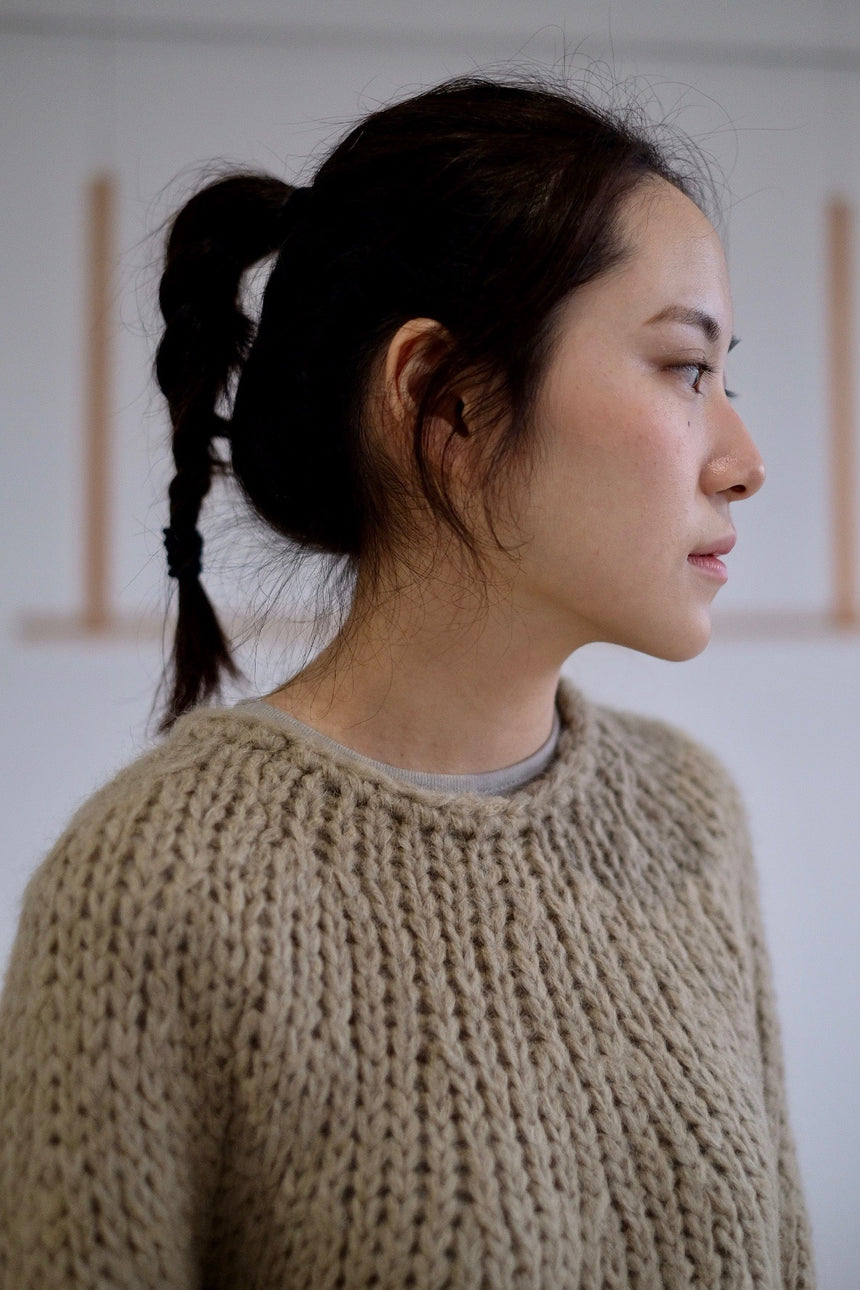 Olive Knitted Sweater