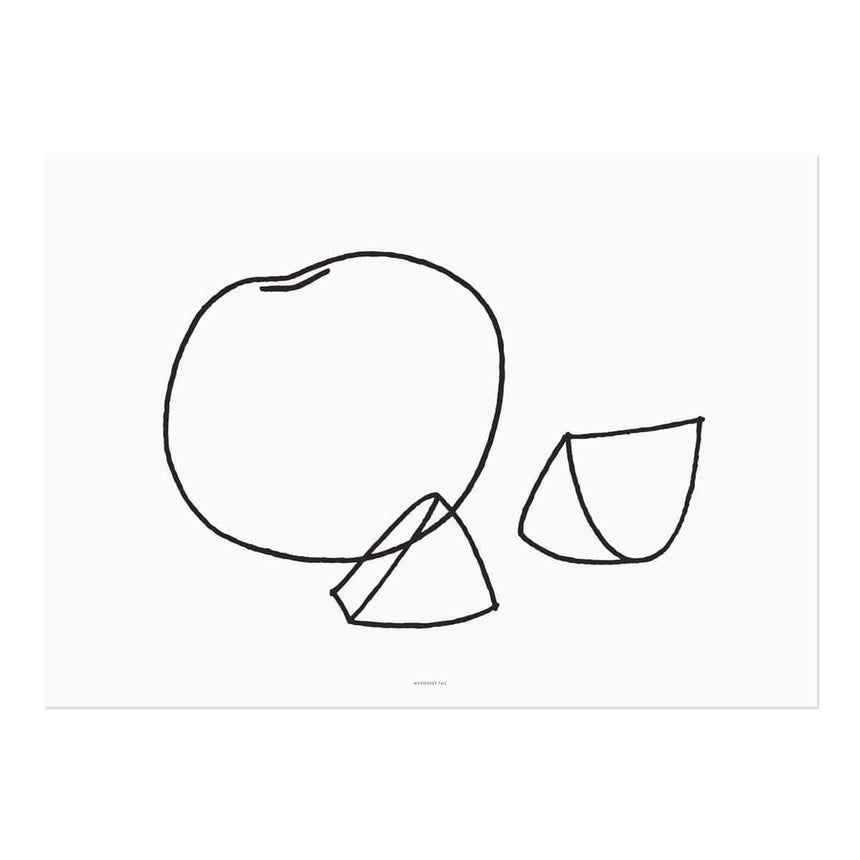 FRUIT - LINE  DRAWING