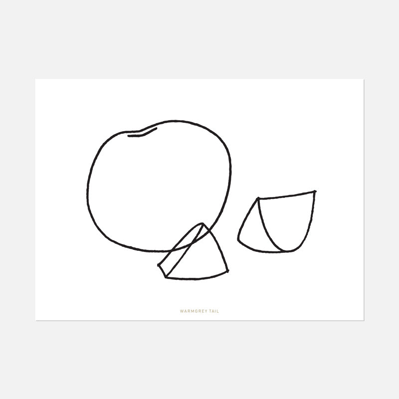 FRUIT LINE DRAWING