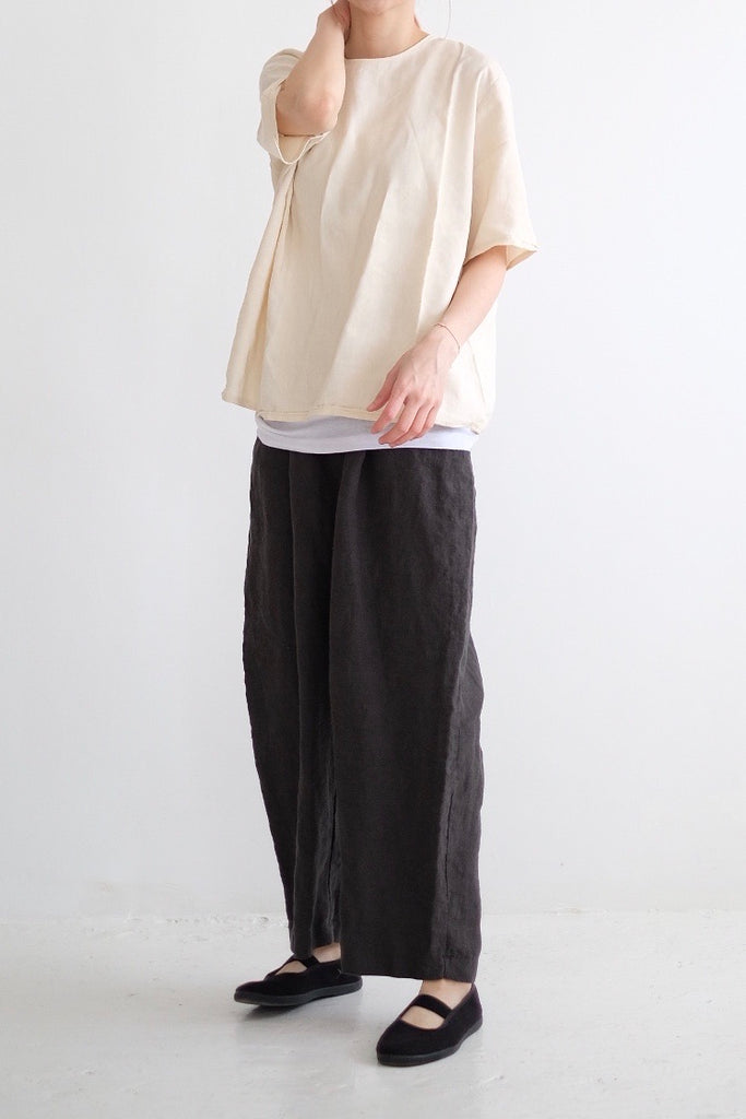 CLEO LINEN CROPPED PANTS (highly recommend) :)