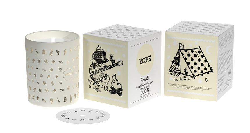 YOPE Natural scented candles