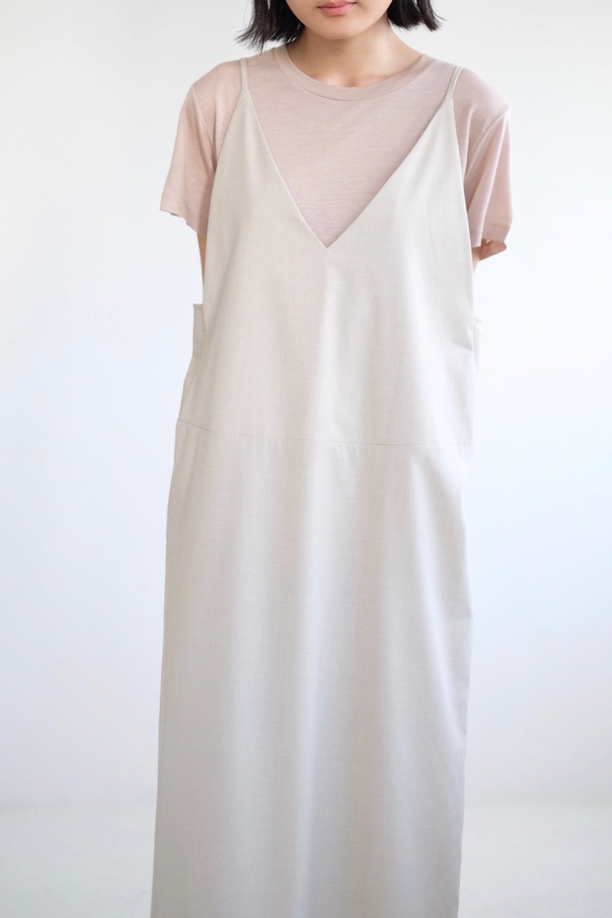 OTTILIE DRESS (IVORY)