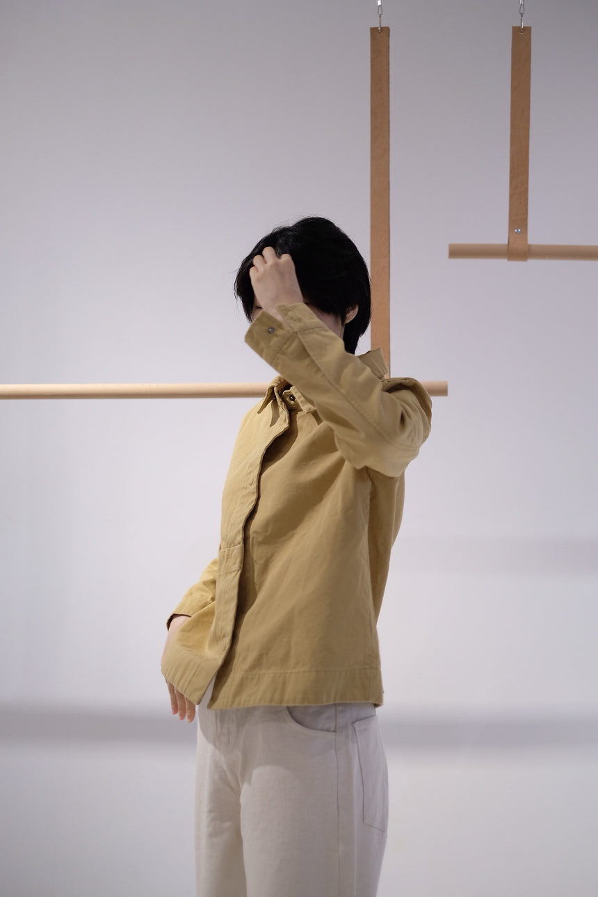 yellow firefly cotton jacket