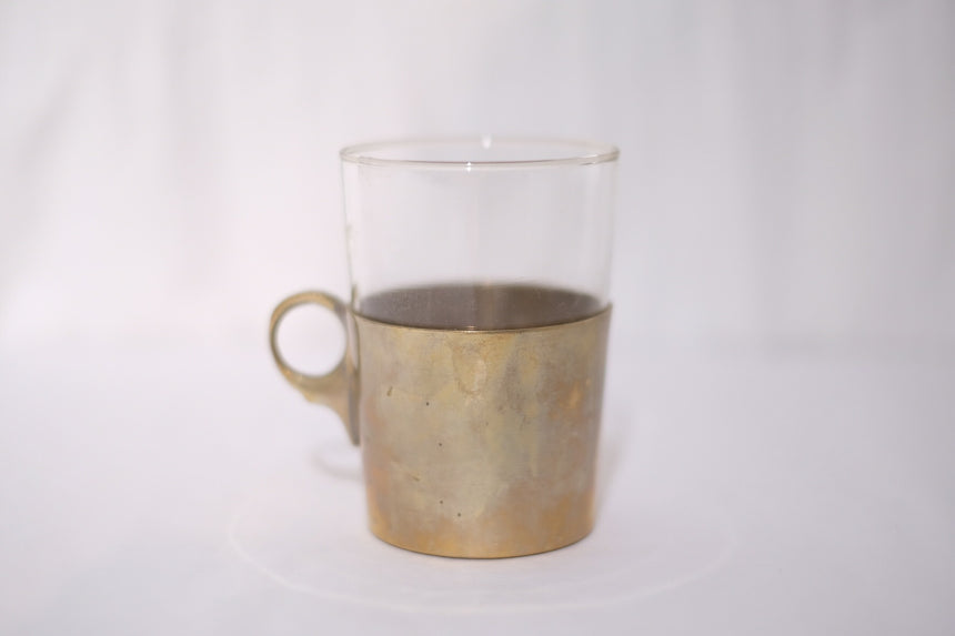 Coffee Cup w/ Metal Cover
