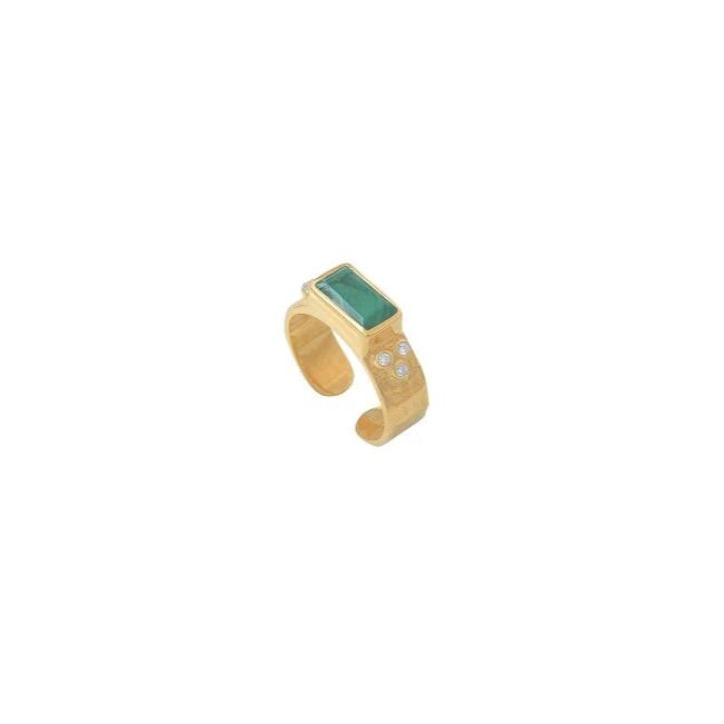 Bague Molly  Malachite