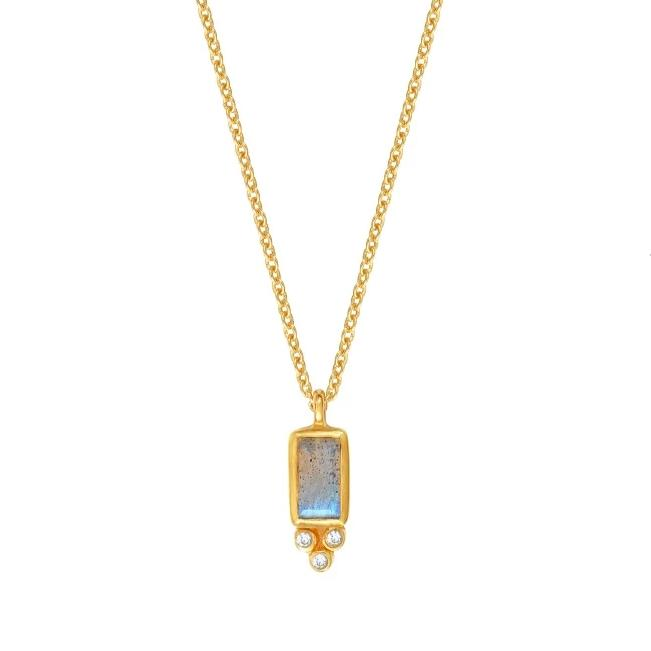 Collier Molly Labradorite