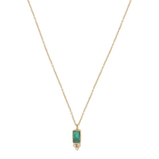 Collier Molly Malachite