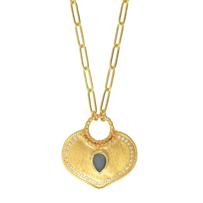 Collier True Love Labradorite