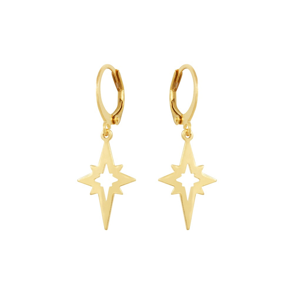 Boucle d'oreille North Star